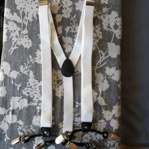 Other - Boys/Mens White Suspenders